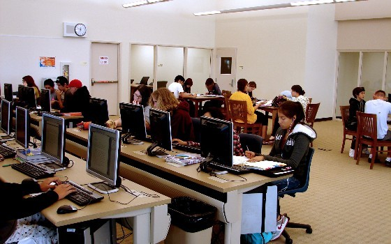 Main Library, Computer Lab 131
