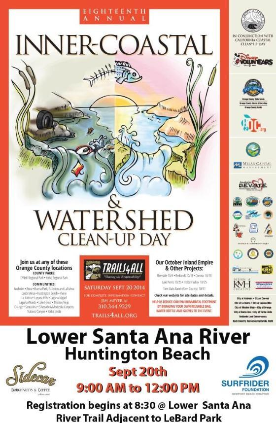 18th Annual Inner Coastal & Watershed Clean-up Day