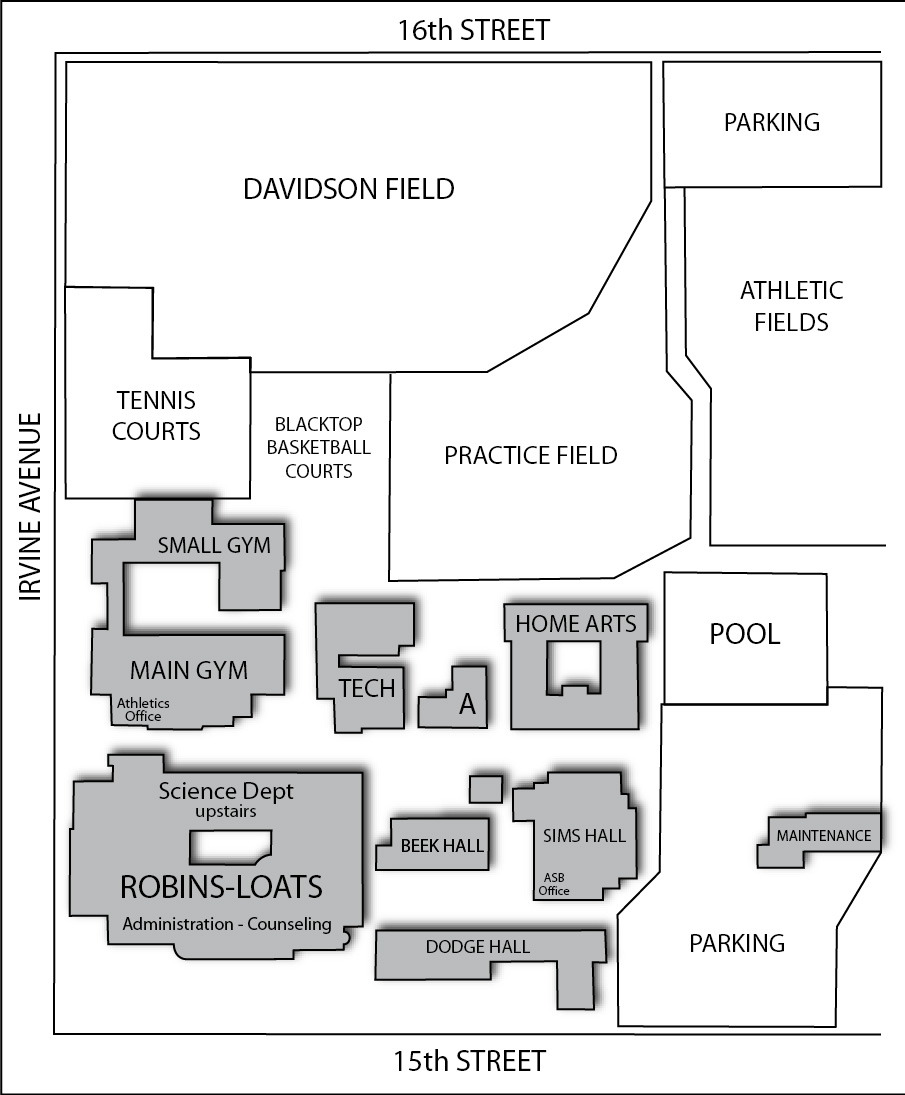 Newport Harbor Campus Map