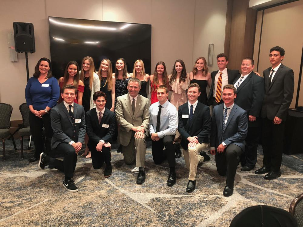 Commodore Club Top Scholars